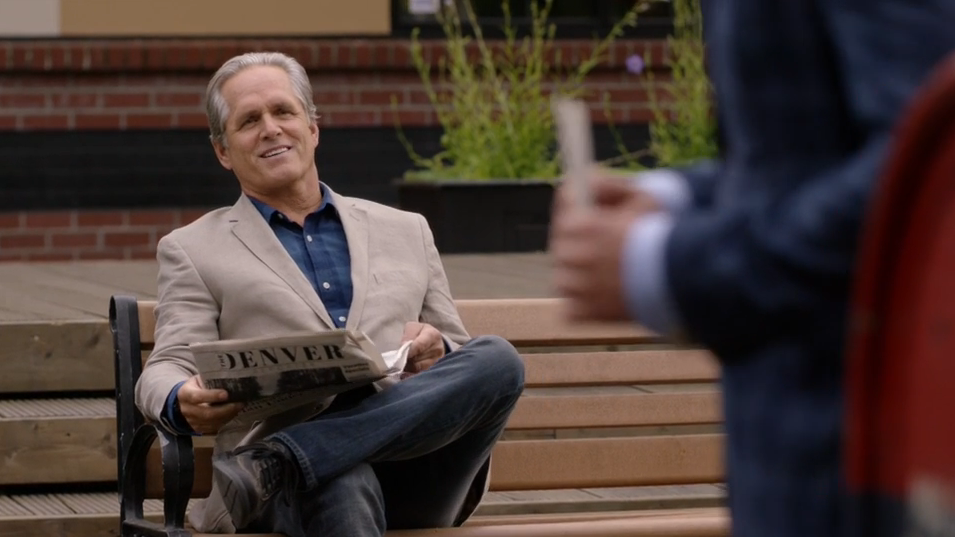 Gregory Harrison as Joseph O'Toole in Signed, Sealed, Delivered: Lost Without You