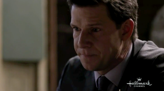 Eric Mabius as a troubled Oliver in The Masterpiece.