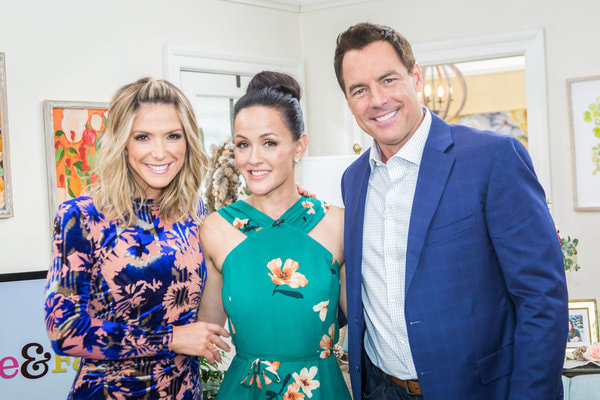 Crystal Lowe on Home & Family