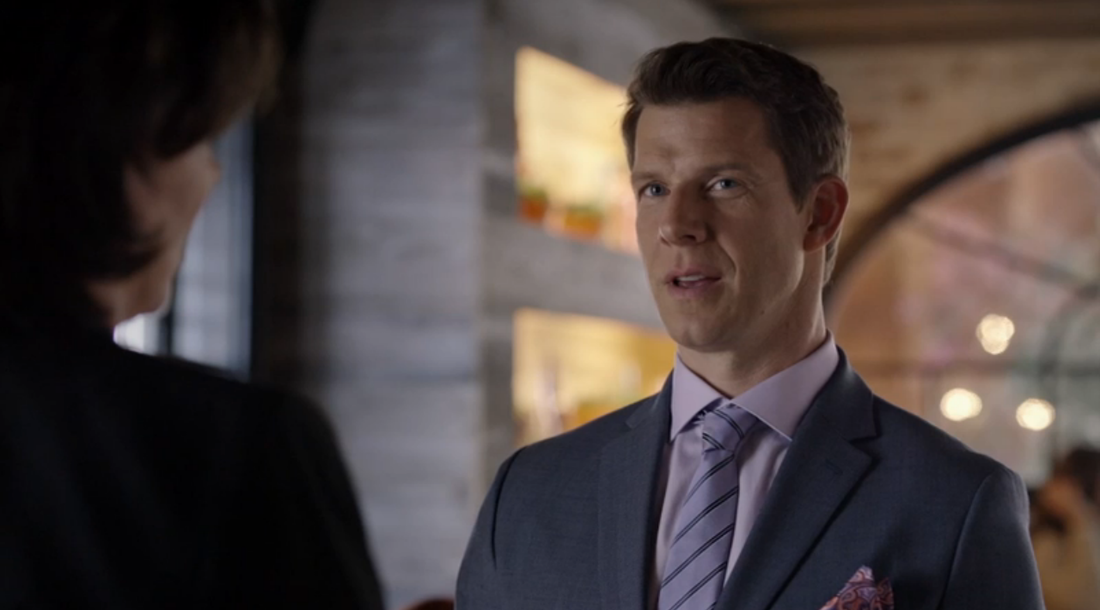 Eric Mabius as Oliver O'Toole in Signed, Sealed, Delivered: The Impossible Dream