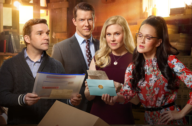 Norman, Oliver, Shane and Rita return in Signed, Sealed, Delivered: To The Altar