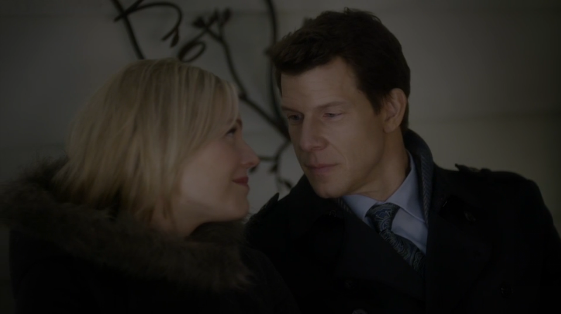 Kristin Booth as Shane McInerney and Eric Mabius as Oliver O'Toole in From Paris With Love