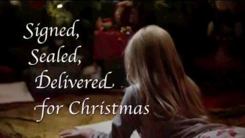 A young Shane in Signed, Sealed, Delivered: For Christmas
