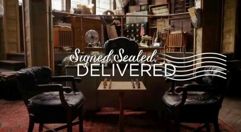 Signed, Sealed, Delivered series title card