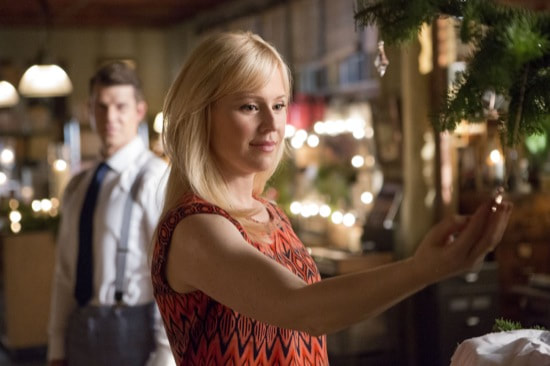Shane finds her necklance on the tree in Signed, Sealed, Delivered: For Christmas
