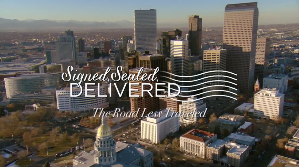 Signed, Sealed, Delivered: The Road Less Traveled title card