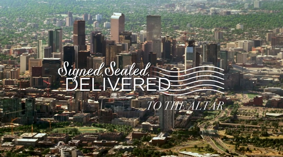 Signed, Sealed, Delivered: To The Altar title card